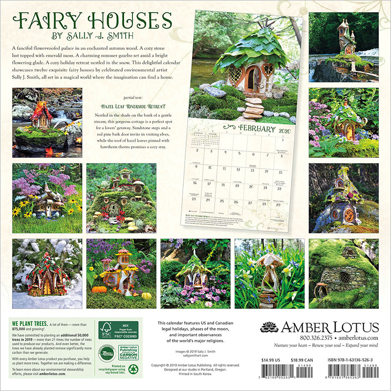 2020 Amber Lotus calendars are here!